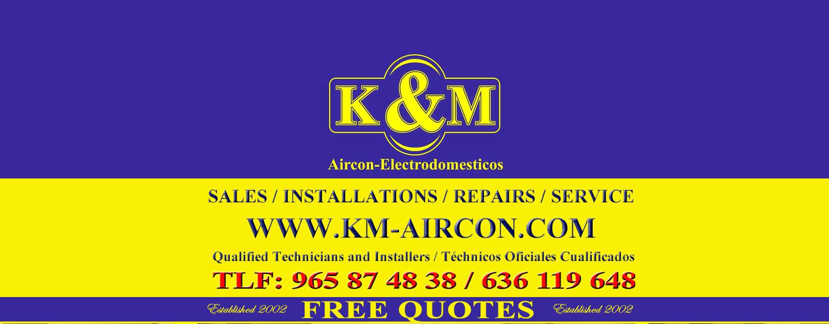 K&M Airconditioning Costa Blanca